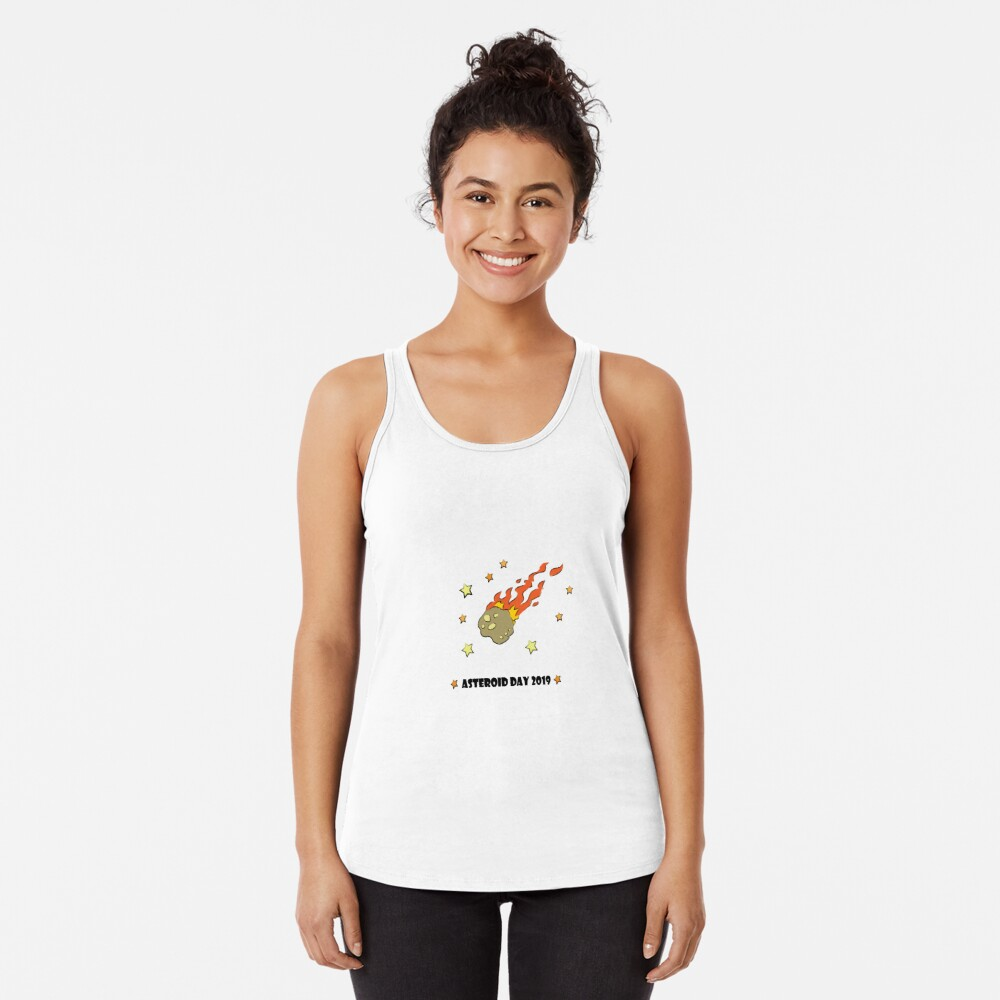 Asteroid Day 2019 - #AsteroidDay Racerback Tank Top