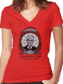A Gentlemen's Club Women's Fitted V-Neck T-Shirt