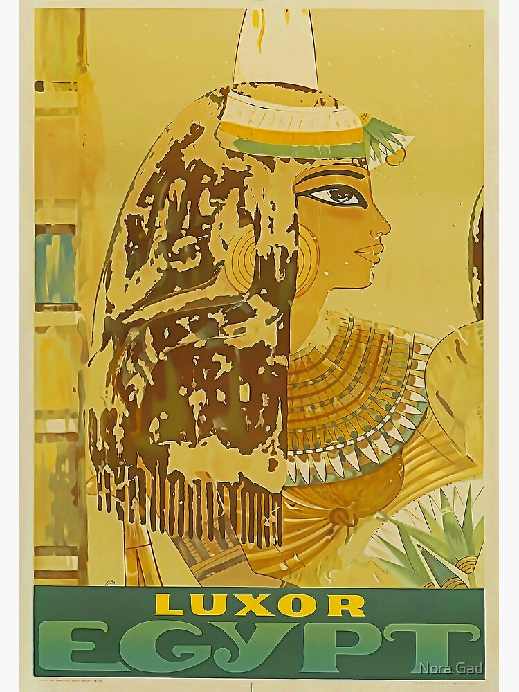 Luxor Travel Poster by NoraMohammed