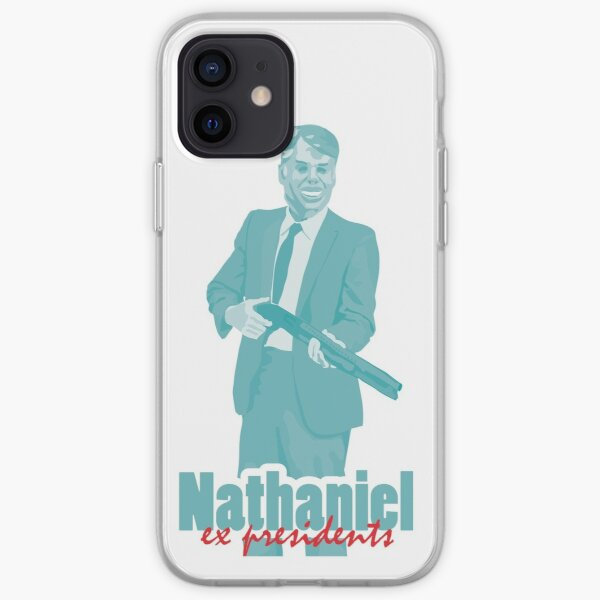 "Nathaniel - Jimmy Carter ""ex presidents""  iPhone Soft Case"