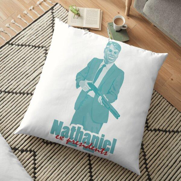"Nathaniel - Jimmy Carter ""ex presidents""  Floor Pillow"