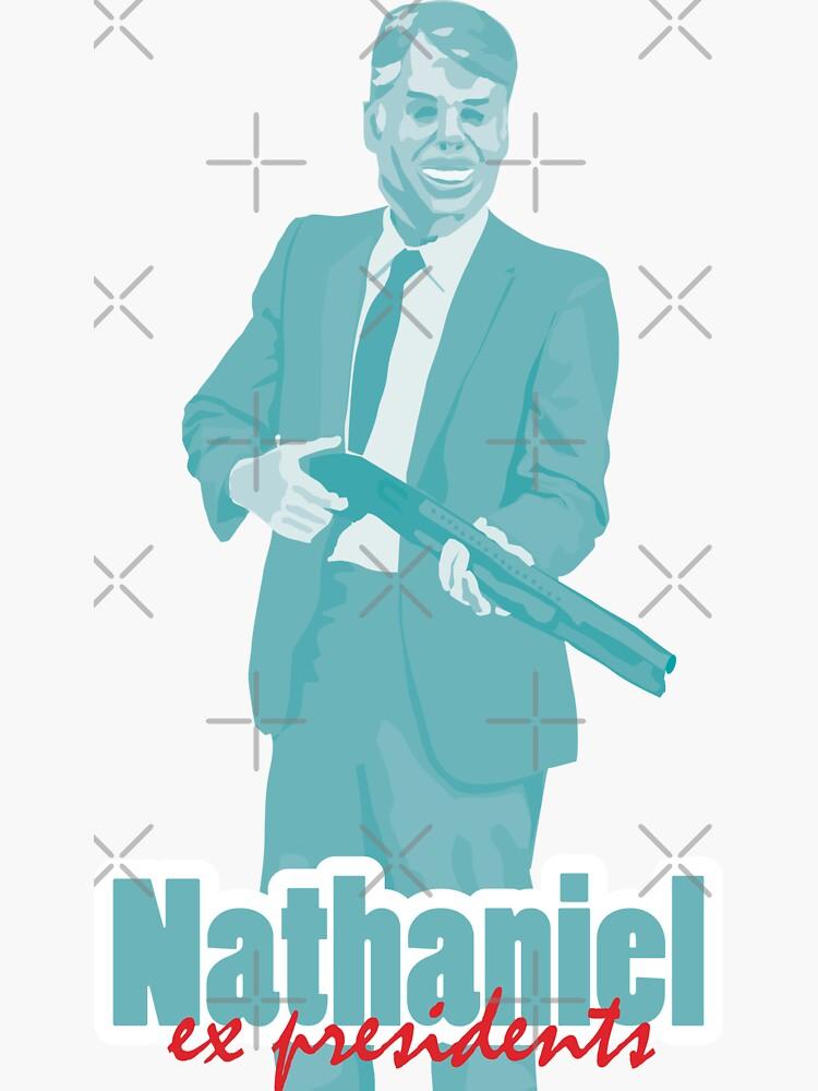 "Nathaniel - Jimmy Carter ""ex presidents""  by mayerarts"