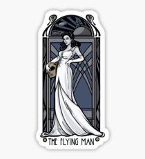 The Flying Man Sticker
