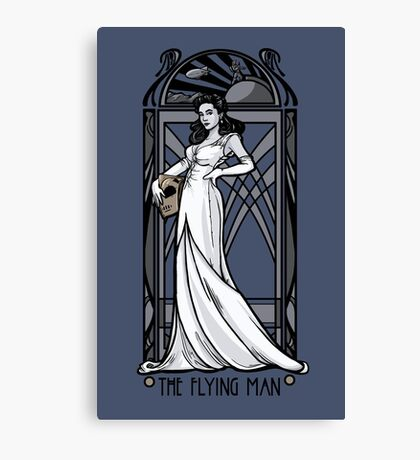 The Flying Man Canvas Print