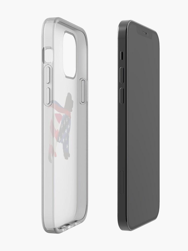 Alternate view of Patriotic Newfie iPhone Case & Cover
