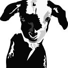 Black and White Goat by ragtagart