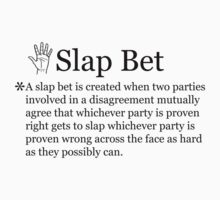 Slap Bet from How I Met Your Mother