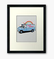 Unicreep Framed Print