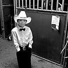 Cowboy & His Horse by photosbytony