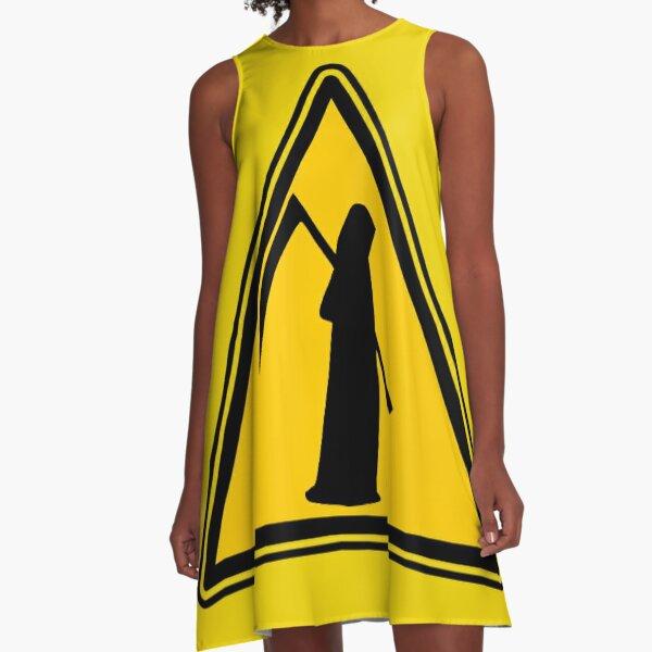 Reaper Warning A-Line Dress