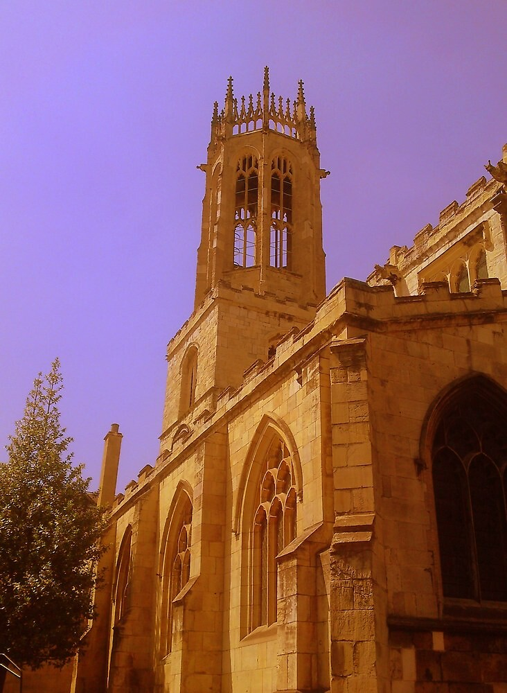 The Church of All Saints, York, England by Chris Millar