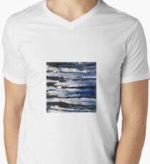 Moonlight Waves  V-Neck T-Shirt