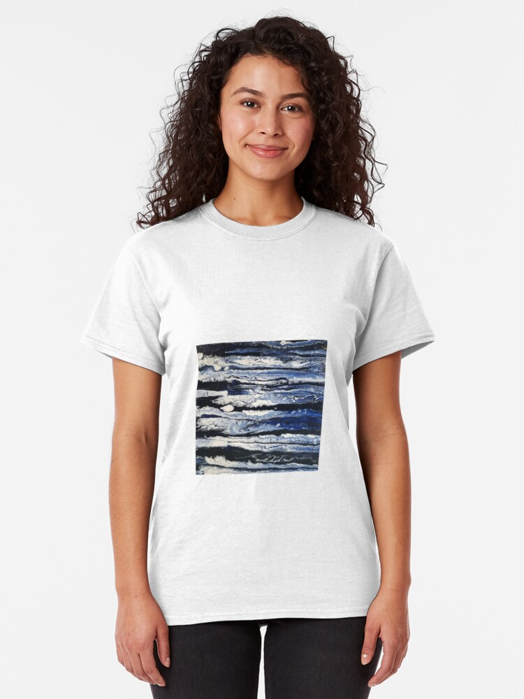 Alternate view of Moonlight Waves  Classic T-Shirt