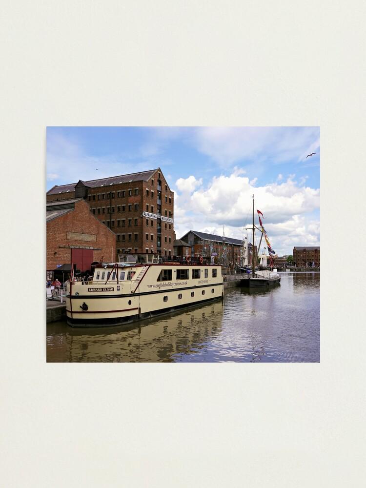 Alternate view of Historic Gloucester Docks Photographic Print