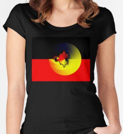 Mandelbrot 20161022-003 Fitted Scoop T-Shirt