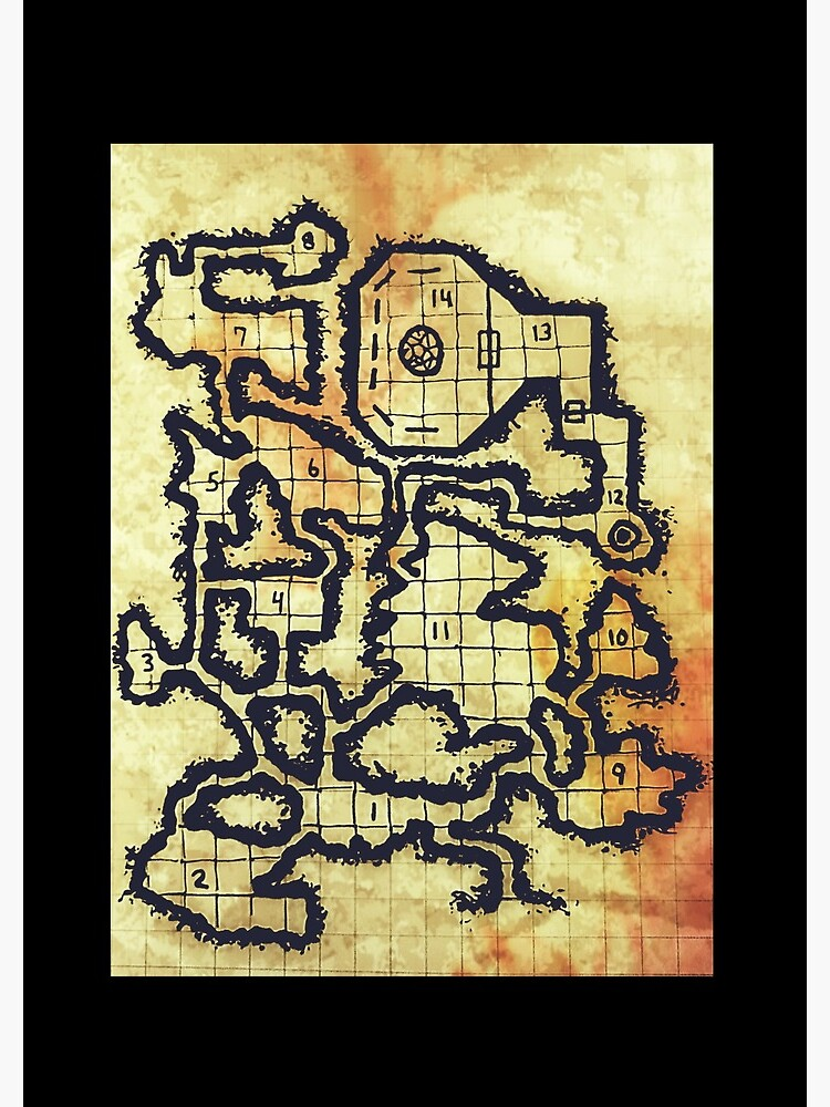 Illusory Caves (old parchment)  by TFCreative