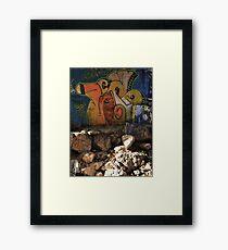 Nes. Framed Print