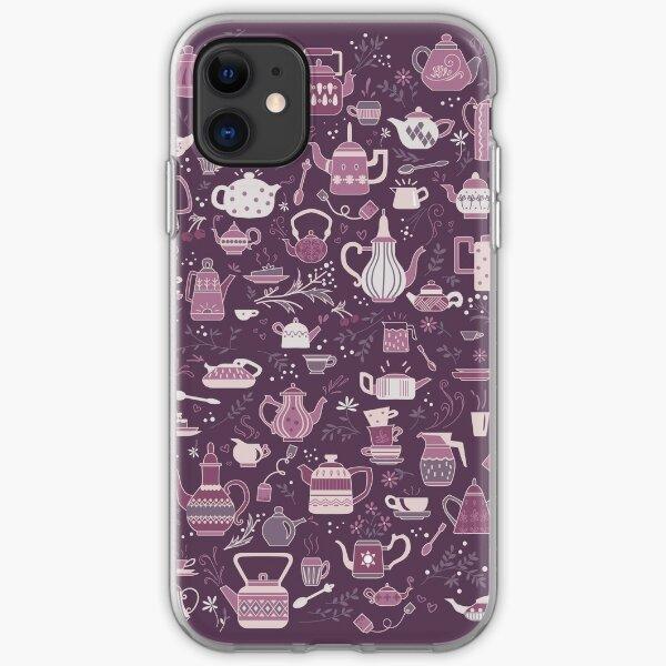 Teapots #4 iPhone Soft Case