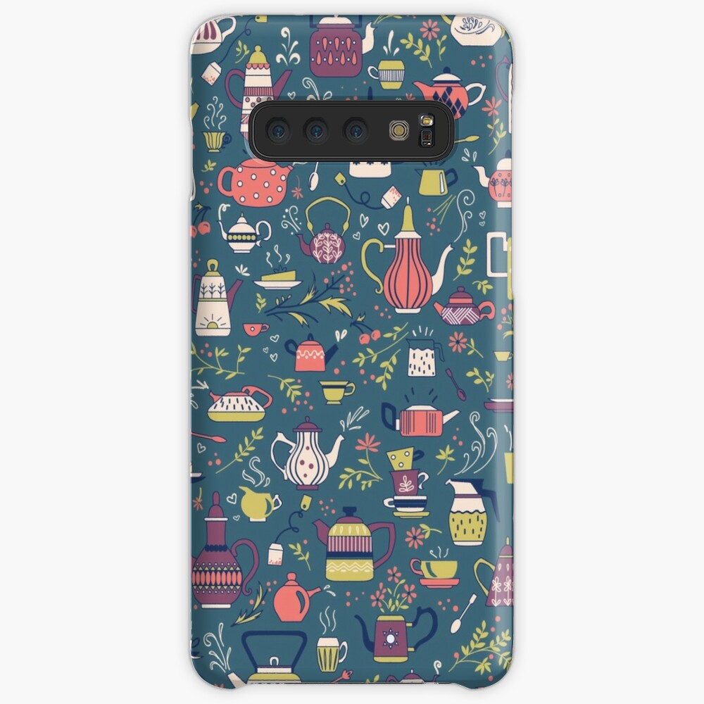 Teapots #3 Case & Skin for Samsung Galaxy