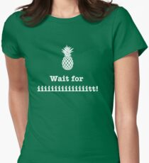 Wait for iiiiiiit!! Women's Fitted T-Shirt
