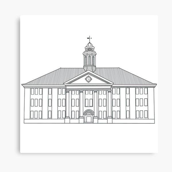 JMU Wilson Hall - James Madison University Canvas Print