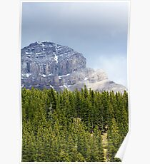 Crowsnest from Chinook Lake Poster