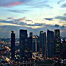 singapore at night..... by litzlimgo