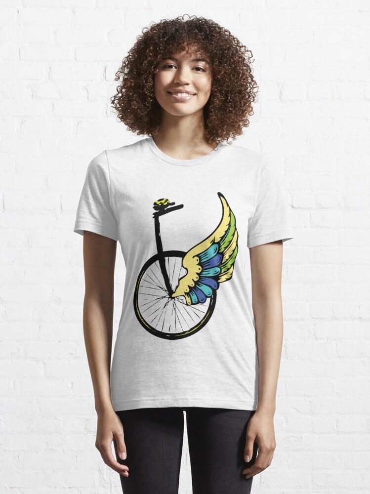 Alternate view of Angel Bike Essential T-Shirt