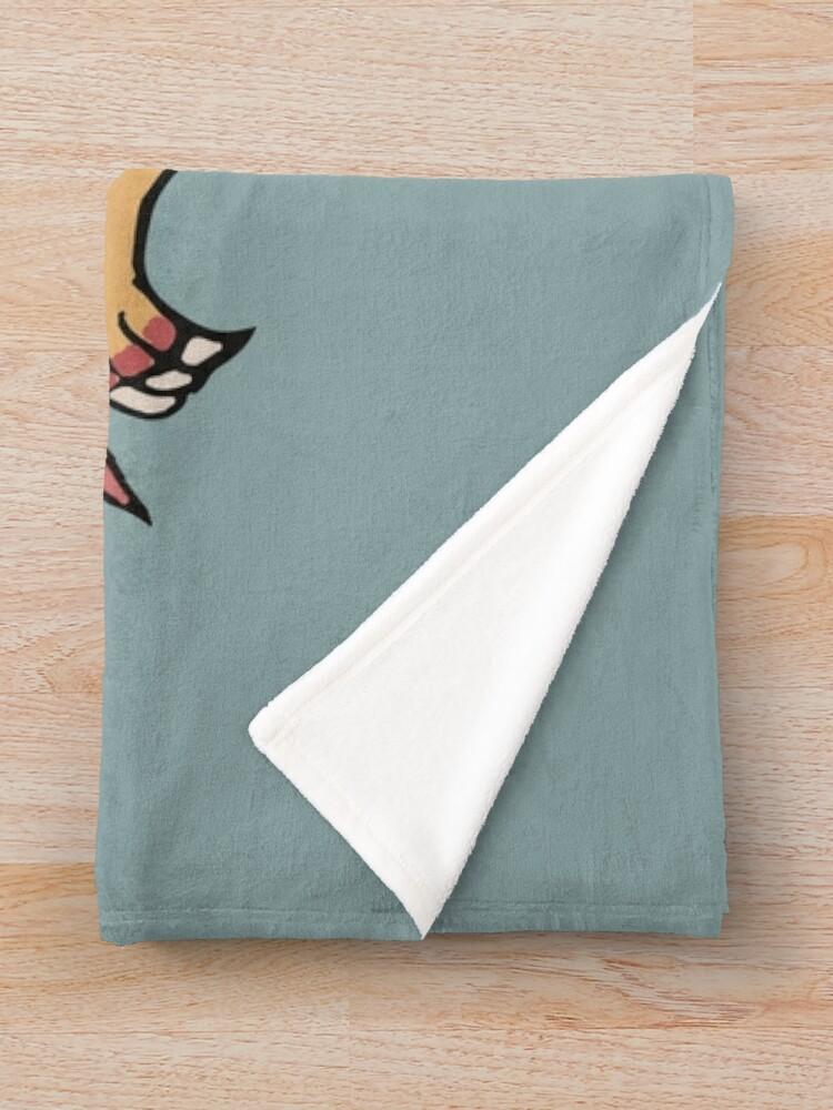 Alternate view of Eagle Throw Blanket