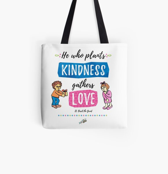 St. Basil quote All Over Print Tote Bag
