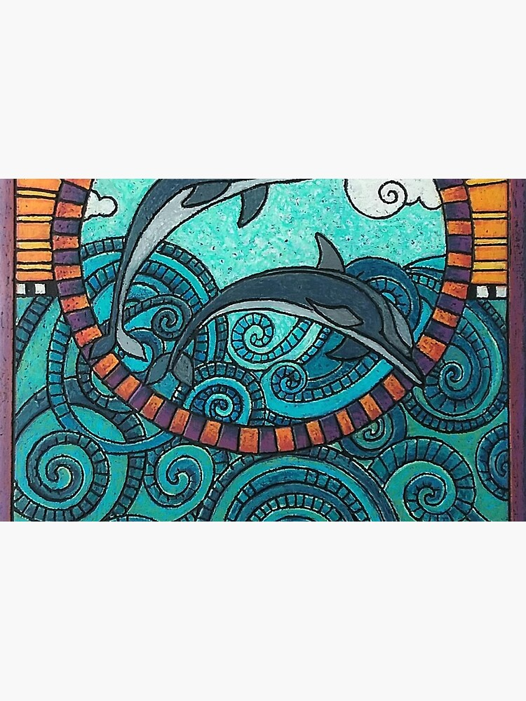 Dolphin Duo by Merideth Young by MeridethYoung