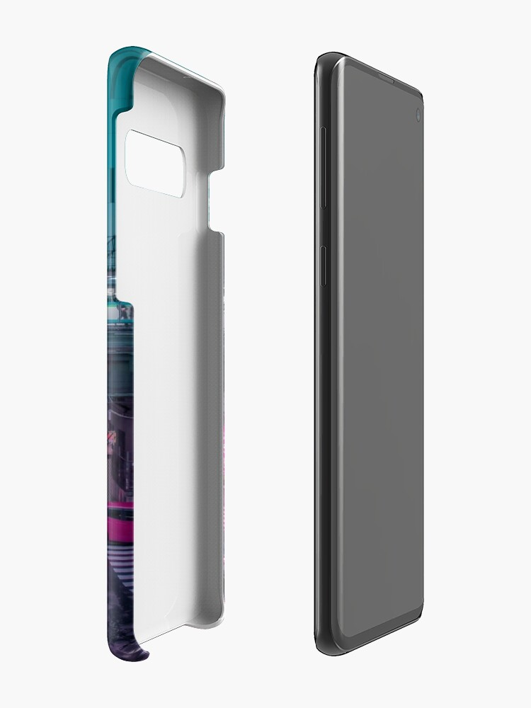 Alternate view of Neo Tokyo Metropolis Case & Skin for Samsung Galaxy