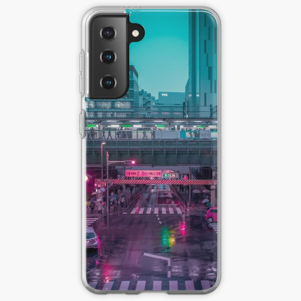 Neo Tokyo Metropolis Samsung Galaxy Soft Case