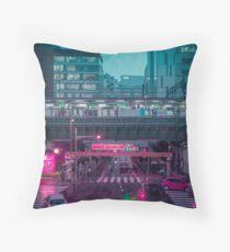 Neo Tokyo Metropolis Floor Pillow