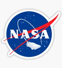 NASA Back 2 Future Sticker