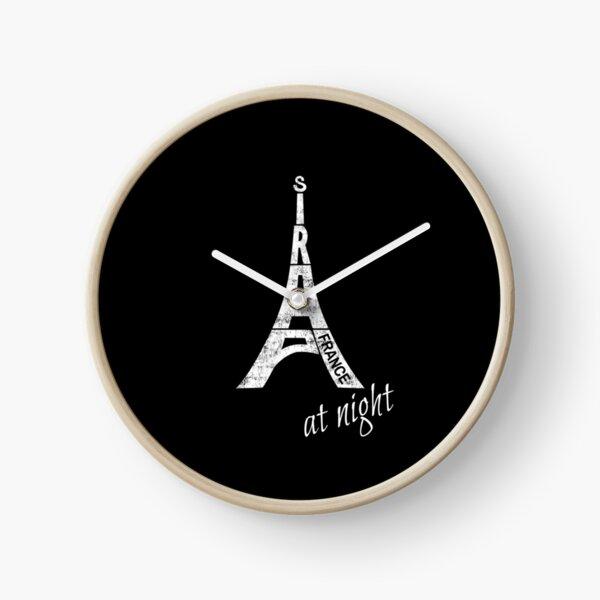 Paris at Night Souvenir Clock