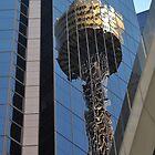 Centrepoint Tower Reflection, Sydney, Australia 2013 by muz2142