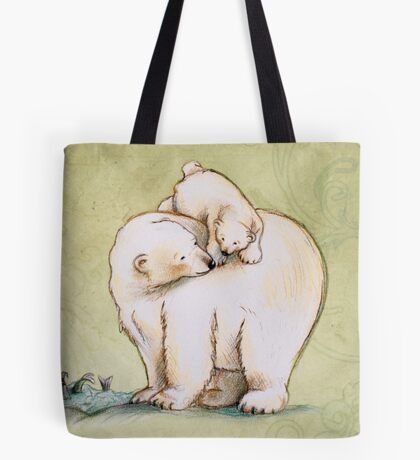 Mother and Cub 2 Tote Bag