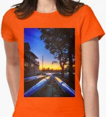 Keels to the sun Womens Fitted T-Shirt