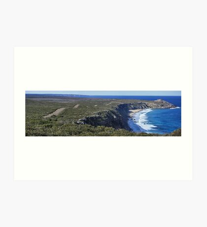 Road to Remarkable Rocks Art Print