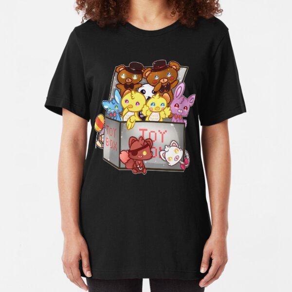 Five Nights At Freddy's 2  Slim Fit T-Shirt