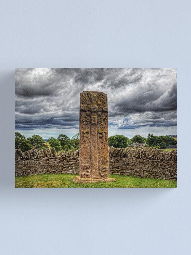 Alternate view of Aberlemno Pictish Cross - Scotland Canvas Print