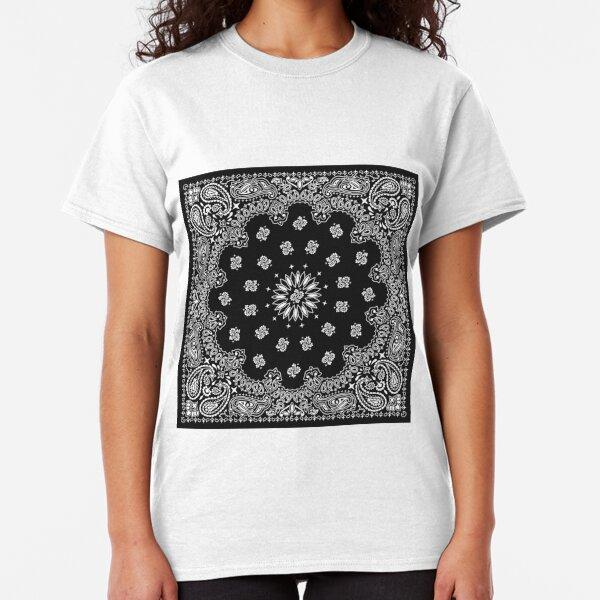 Bandana in Black  Classic T-Shirt