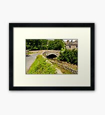 Packhorse Bridge - Thwaite Framed Print