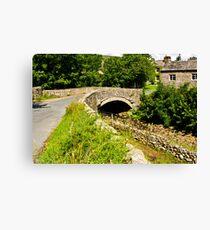 Packhorse Bridge - Thwaite Canvas Print