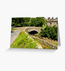 Packhorse Bridge - Thwaite Greeting Card
