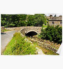 Packhorse Bridge - Thwaite Poster