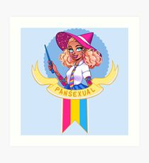 I was sorted into the Pansexual House Art Print