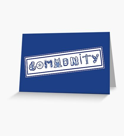 Community College Greeting Card
