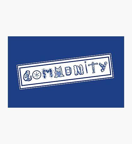 Community College Photographic Print